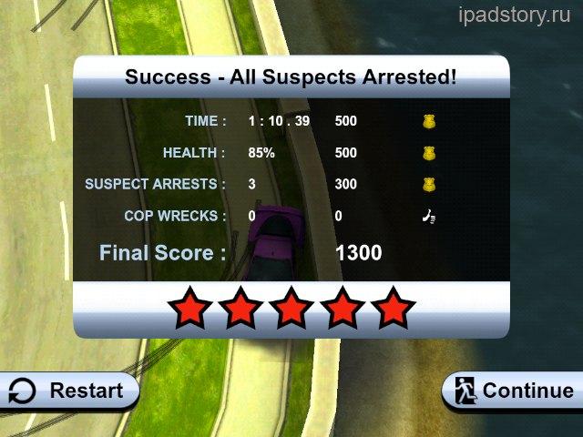 Smash Cops на iPad