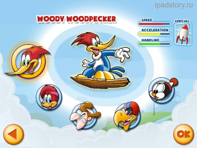 woodie woodpecker
