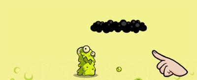Znot - персонаж игры Snoticle на iPad