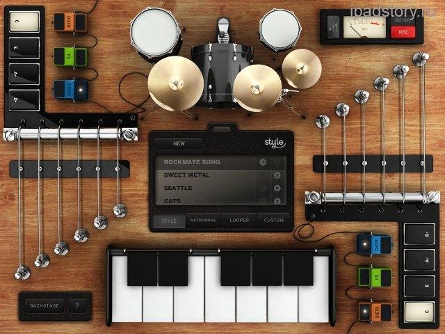 Rockmate на iPad