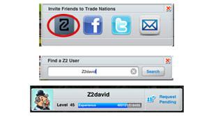 Trade Nations™ добавление друзей