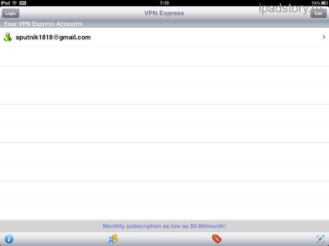 VPN iPad