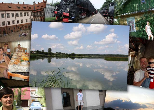 наши фотографии с той поездки в Беларусь