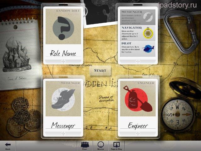 Forbidden Island на iPad