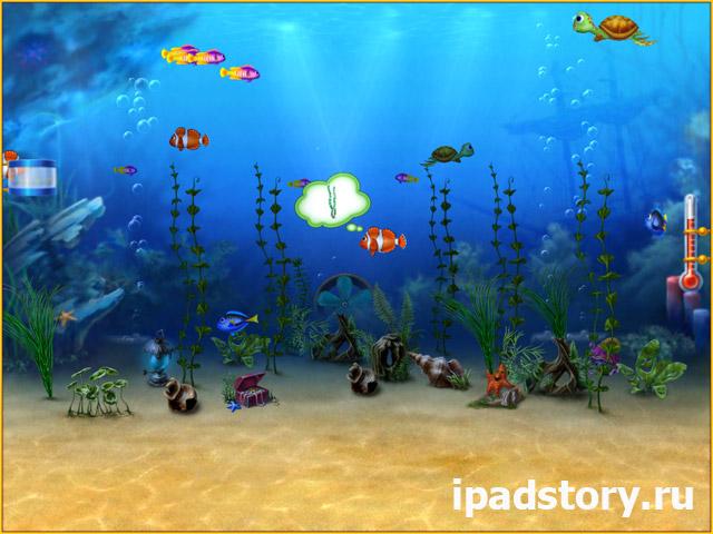Fishdom HD - игра для iPad в жанре 3 в ряд, аквариум