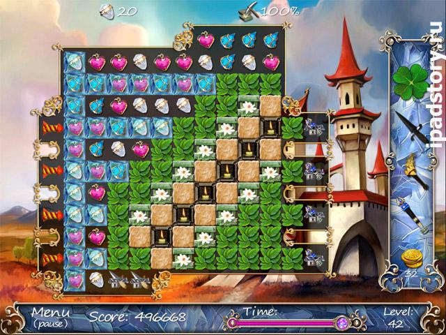 Season Match HD - игра три в ряд для iPad от Big Fish Games