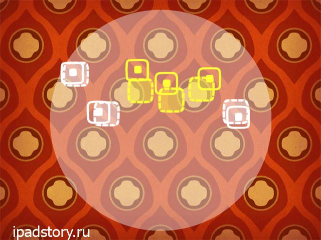 Fingle на iPad - скриншот игры