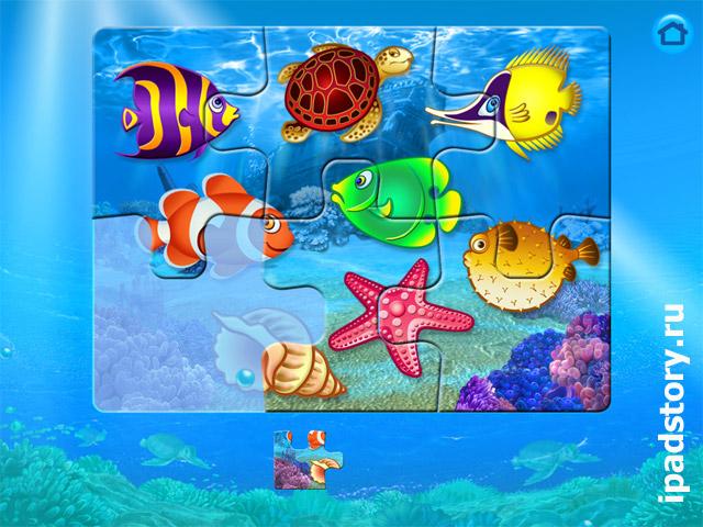 Magic Sorter - игра на iPad для детей - собери пазл