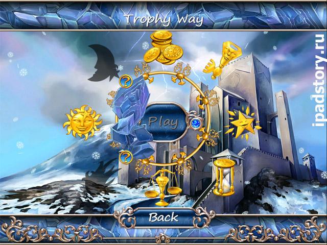 Season Match HD - игра три в ряд для iPad, скриншот из игры