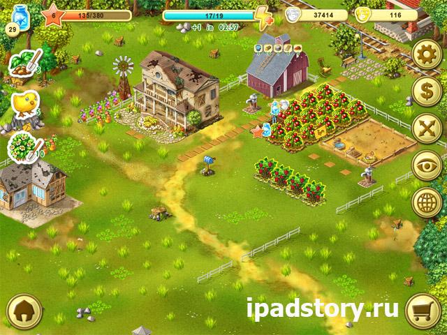 Ферма Джейн HD - сажаем овощи
