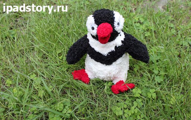 вязаный пингвин из игры Веселая ферма 3