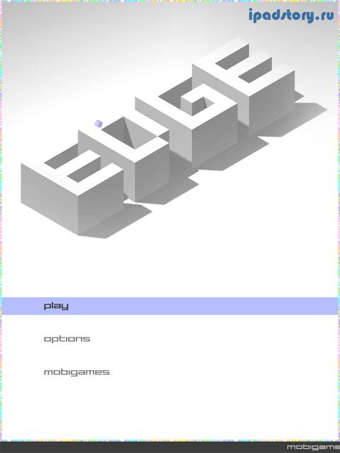 Edge - головоломка на iPad