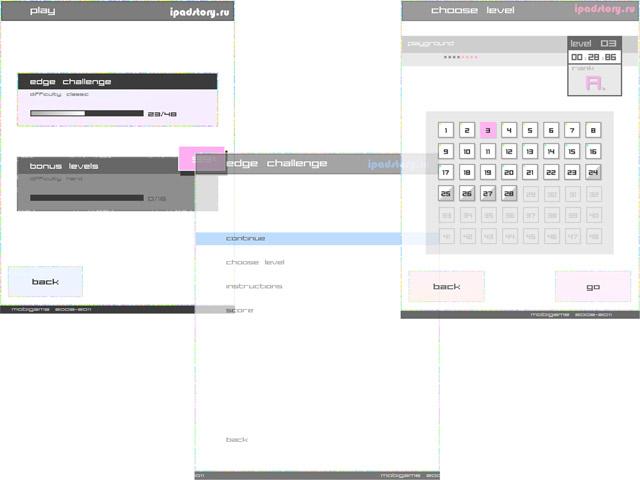 Edge - обзор игры для iPad от ipadstory.ru