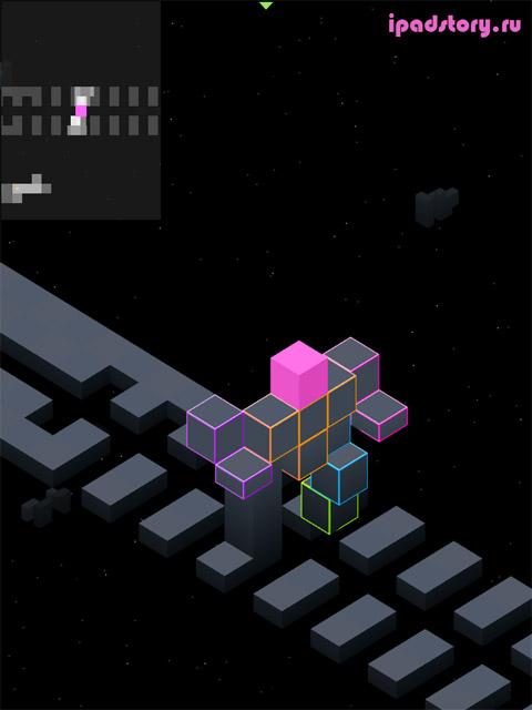 edge - скриншот из игры для iPad