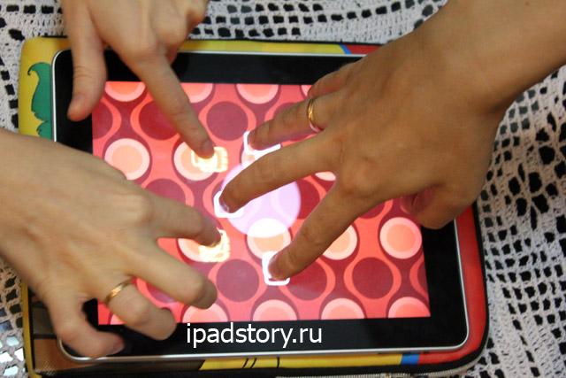 Fingle - классная игра для двоих на iPad