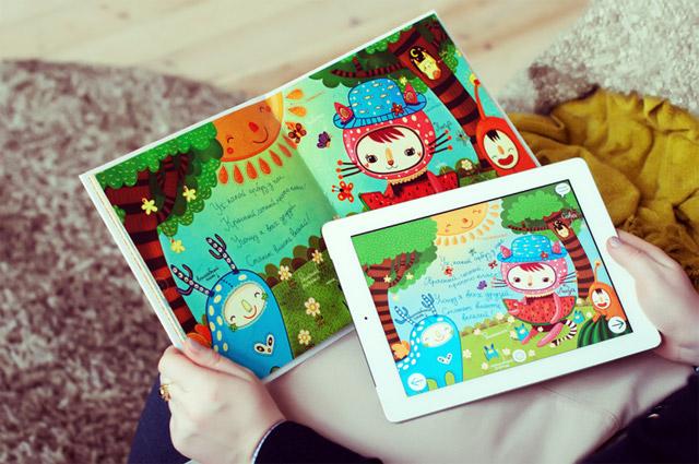 книга Флоксики и приложение для iPad