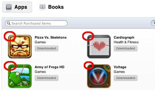 Скрыть покупки в App Store