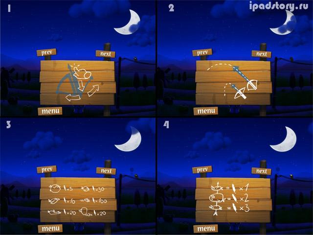 Shoot The Birds - скриншот игры для iPad