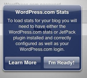 WordPress на iPad - статистика