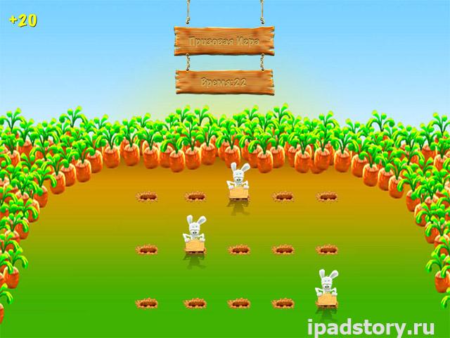 Умные зайцы для iPad