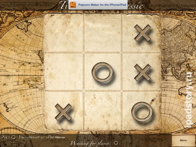 Tic Tac Toe Classic – классические крестики-нолики на iPad