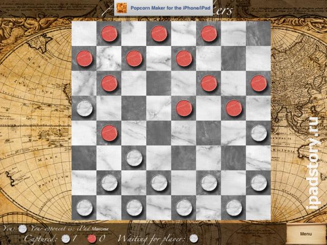 American Checkers – американские шашки на iPad