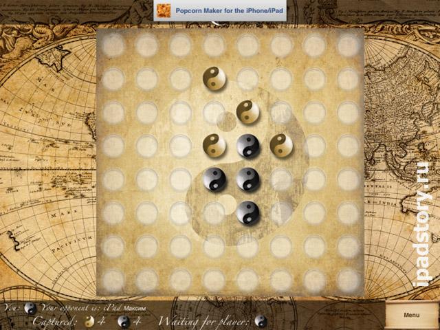 Reversi (Othello) – стратегическая настольная игра на iPad