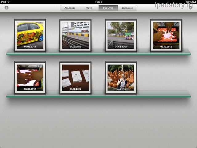 iPhoto на iPad