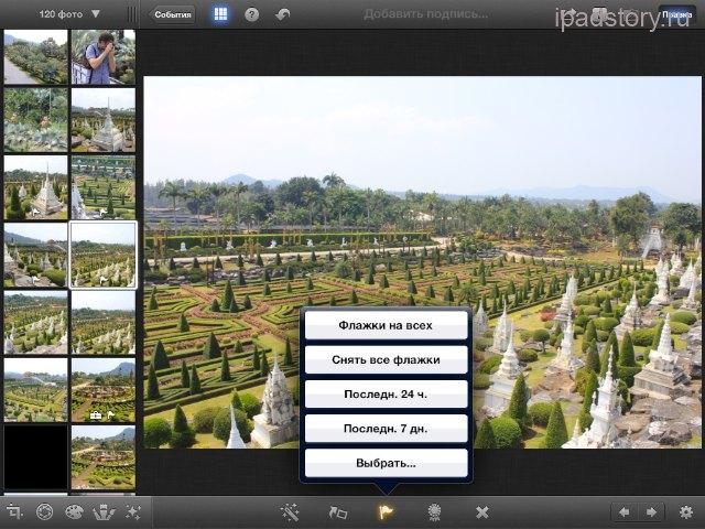 iPad iPhoto