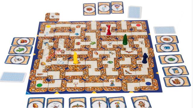 настольная игра «Сумасшедший лабиринт»/ The Amazing Labyrinth