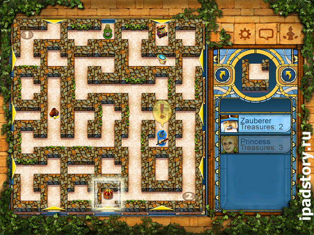 THE aMAZEing Labyrinth HD на iPad - скриншот игры
