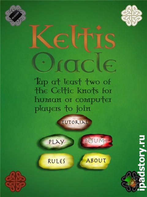 Reiner Knizia's Keltis Oracle для iPad
