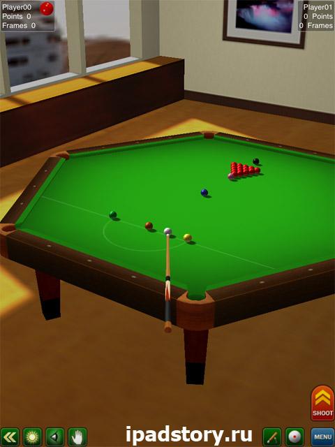 Pool Break - скриншот игры на iPad