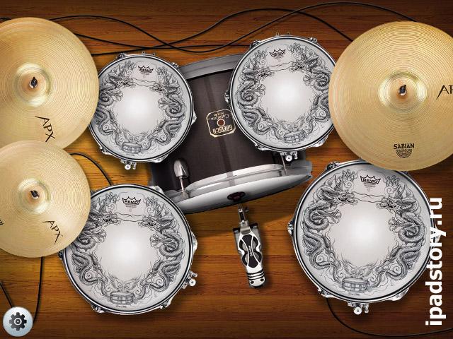 Real Drum для iPad