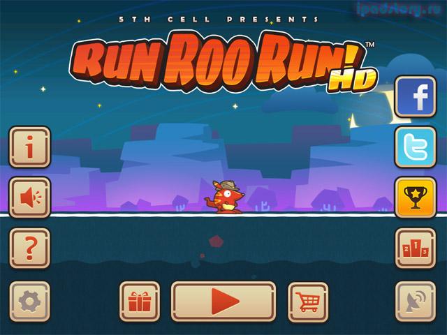 Run Roo Run HD - игра на iPad