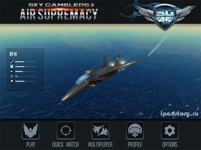 Sky Gamblers: Air Supremacy на iPad