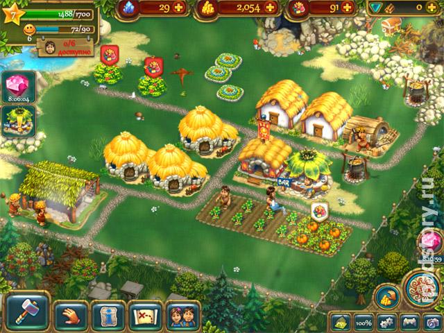 новый город в игре Туземцы - The Tribes