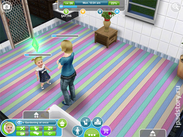 The Sims FreePlay: ребенок