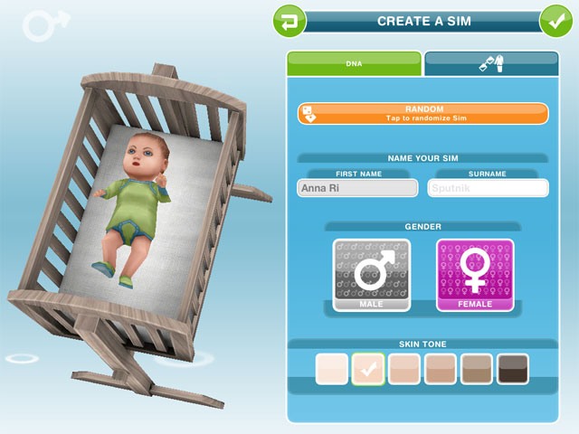 The Sims FreePlay - ребенок у симсов