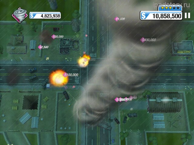 Burnout Crash iPad