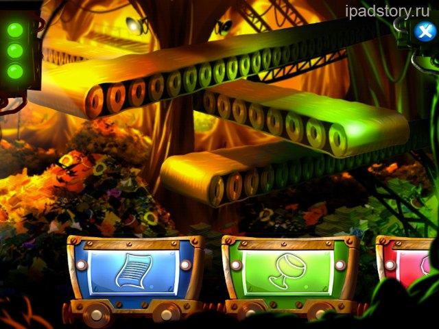 Город Тайн на iPad