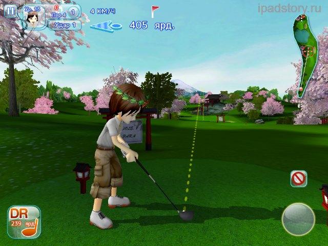 Let's Golf 3 на iPad