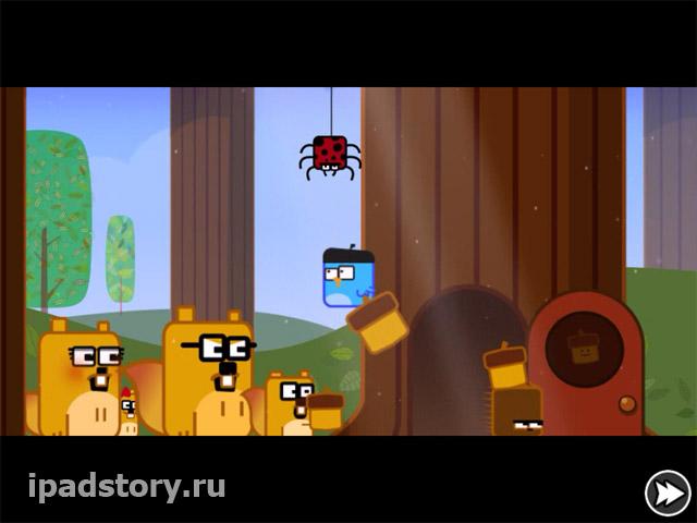 Little acorns - игра для iPad