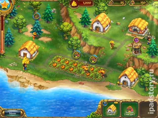 скриншот из игры Поселенцы Джека