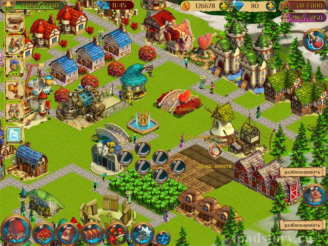 Волшебное королевство - игра на iPad