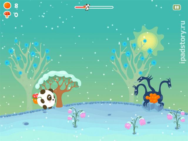 Panda Sweet Tooth - прикольная аркада для детей и взрослых