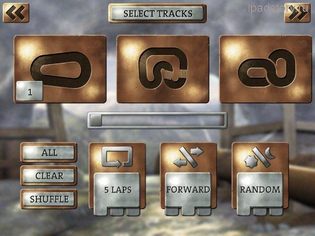Slingshot Racing на iPad