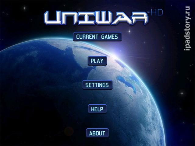 UniWar HD - игра для iPad