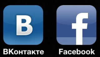 ВКонтакте vs  Facebook
