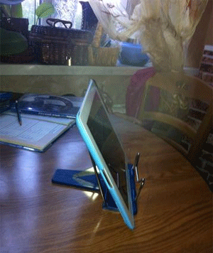 вот так жена niks26 читает книги на iPad :)